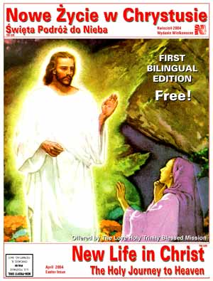 The LHTBM The New Life in The Holy Trinity, The Holy Journey to Heaven Publication, 1st Bilingual Edition