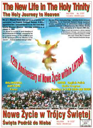 The LHTBM The New Life in The Holy Trinity, The Holy Journey to Heaven Publication, 2nd Bilingual Edition